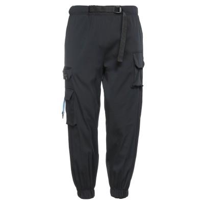 ヌメロ NUMERO 00 パンツ ブラック S ポリエステル 77% / コットン 22% / ポリウレタン 1% パンツ