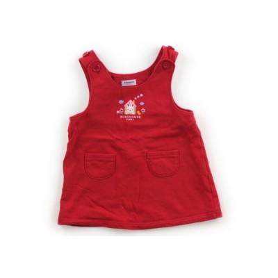 ミキハウス mikiHOUSE ジャンパースカート 70サイズ 女の子 子供服 ベビー服 キッズ