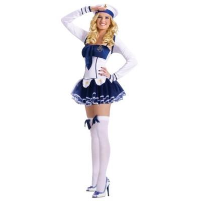ハイ・シーズ・ホッティー セーラー 衣装、コスチューム 大人女性用 セクシー ドレス