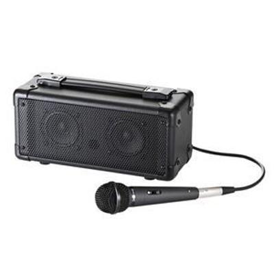 ds-1252590 サンワサプライ マイク付き拡声器スピーカー MM-SPAMP (ds1252590)