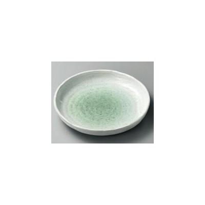 和食器新緑丸10.0皿/大きさ・26.5×4.2cm