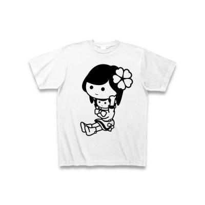 着ぐるみバイトあいどる#2 Tシャツ(ホワイト)