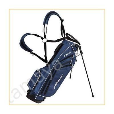 PROSiMMON ゴルフ DRK 7インチ 軽量 ゴルフスタンドバッグ デュアルストラップ付き ブルー/ホワイト
