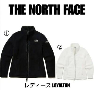 THE NORTH FACE ノースフェイス  ロイヤルトン フリース ジャケット 白 黒 レディース