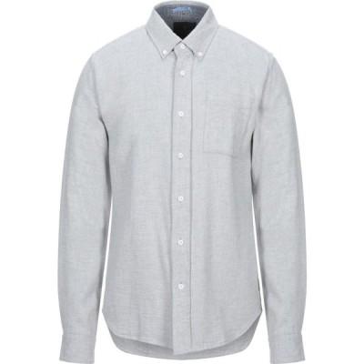スコッチ&ソーダ SCOTCH & SODA メンズ シャツ トップス solid color shirt Light grey