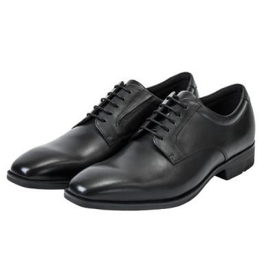 texcy luxe テクシーリュクス TU-7009 TU7009 ブラック 24.5〜28cm 革靴 ビジネスシューズ メンズ 幅広 軽量 紳士靴 アシックス商事 冠婚葬祭