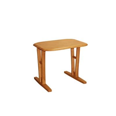 【多サイズから選べる】天然木のシンプルダイニングテーブル<2人用/4人用/6人用>