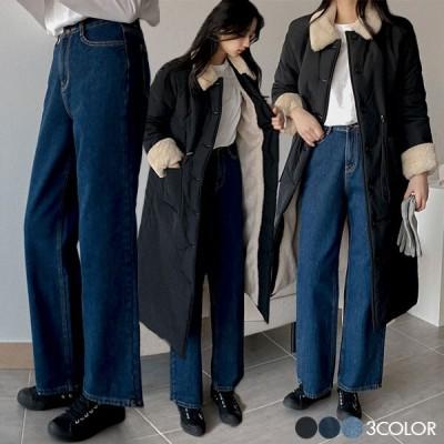 メルトン起毛ワイドデニムパンツ いよいよQOO10入店!大人気韓国女性ファッションブランド「REALCOCO」入店イベ