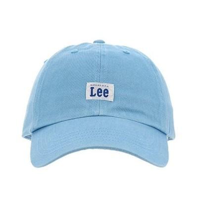 リー Lee キャップ コットン サイズ調整可能 帽子 100176303 73ライトブルー