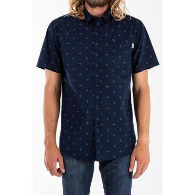 ケイティン シャツ メンズ トップス Katin Men's Santa Fe Button up Shirt Navy