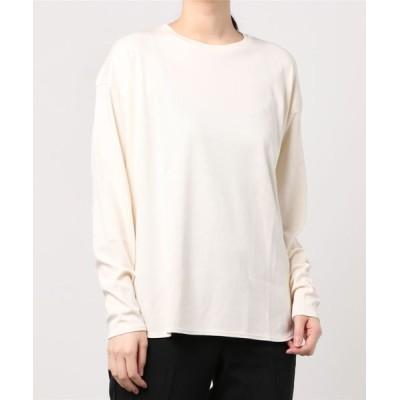BEAMS WOMEN / Demi-Luxe BEAMS / スムース ロングスリーブ Tシャツ WOMEN トップス > Tシャツ/カットソー