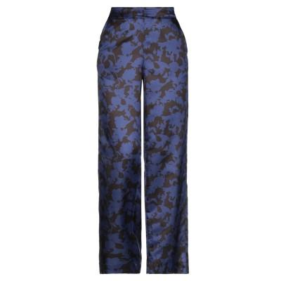 LA FABRIQUE パンツ ブルー S コットン 60% / シルク 40% パンツ