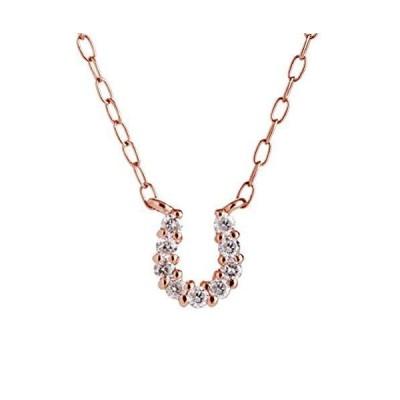 キャーロ ディ ディアマンテ ダイヤモンド 0.07ct ピンクゴールド K10 ネックレス CHD0005