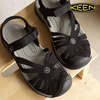 キーン ローズサンダル 靴 KEEN Rose Sandal Black/Neutral WMN ウォーターシューズ サンダル 靴 ウィメンズ Gray 1008783