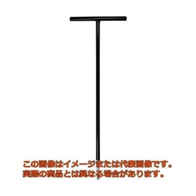 エイト T型 六角棒スパナ テーパーヘッド 鉄ハンドル 首下500mm 単品 STT5005