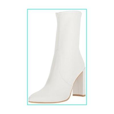 【新品】Stuart Weitzman Women's Clinger Ankle Boot, Snow Plonge Stretch, 10 Medium US(並行輸入品)