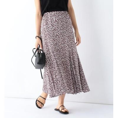 【ビームス ウィメン/BEAMS WOMEN】 Demi-Luxe BEAMS/ コットンボイル プリントスカート