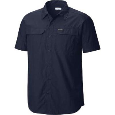 コロンビア メンズ シャツ トップス Columbia Men's Silver Ridge 2.0 SS Shirt Collegiate Navy