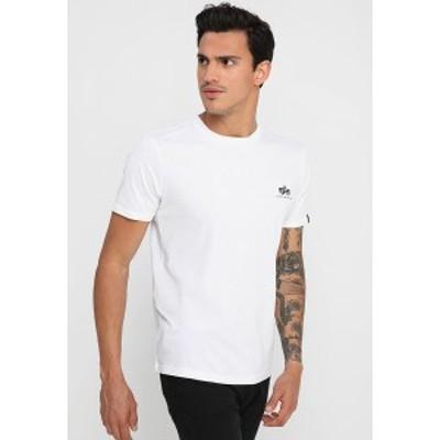 アルファインダストリーズ メンズ Tシャツ トップス Print T-shirt - white white