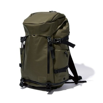 kiu(キウ) HH-01897 バックパック SOLID FLAP BACKPACK カーキ (HH01897)