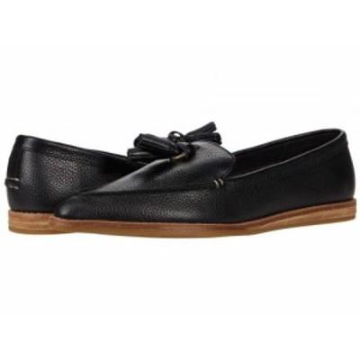 Sperry スペリー レディース 女性用 シューズ 靴 ローファー ボートシューズ Saybrook Slip-On Tumbled Leather Black【送料無料】