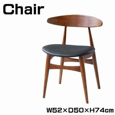 チェア ダイニングチェア 幅52cm 椅子 いす 食卓椅子 チェアー ダイニングチェアー 天然木 シンプル おしゃれ リビング ダイニング  VETL-630