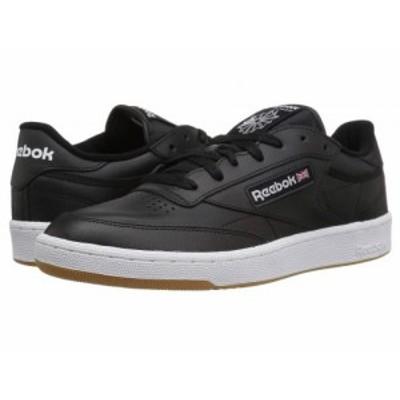 Reebok Lifestyle リーボック メンズ 男性用 シューズ 靴 スニーカー 運動靴 Club C 85 Int/Black/White/Gum【送料無料】