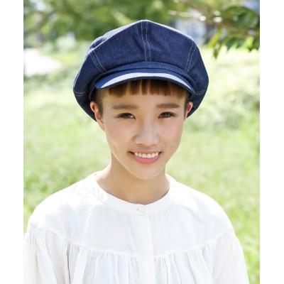 Shop無 / デニムキャスケット WOMEN 帽子 > キャスケット