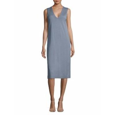 ラファイエット148ニューヨーク レディース ワンピース Sleeveless V-Neck Knee-Length Dress