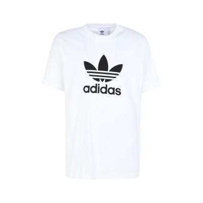 ADIDAS ORIGINALS T シャツ ホワイト S コットン 100% T シャツ