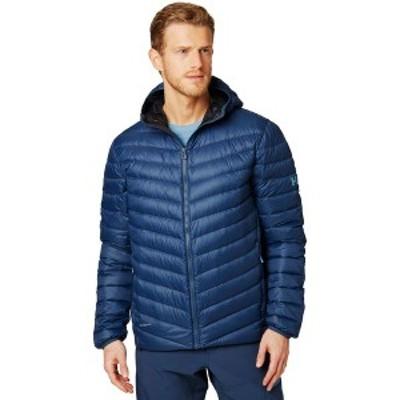 ヘリーハンセン メンズ ジャケット・ブルゾン アウター Verglas Hooded Down Insulator Jacket North Sea Blue
