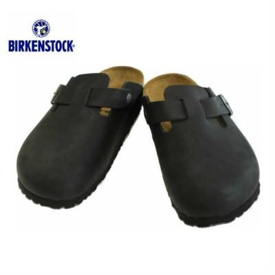 ビルケンシュトック ボストン 059461 059463 サンダル ブラック 革 オイルドレザー レディース メンズ BIRKENSTOCK Boston Black