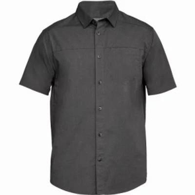 アンダーアーマー その他トップス Pierpoint SS Woven Shirt Charcoal/Charcoal