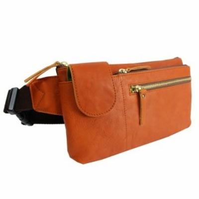 日本製 本革 ナイロン×牛革 ウエストバッグ    財布 ボディバッグ