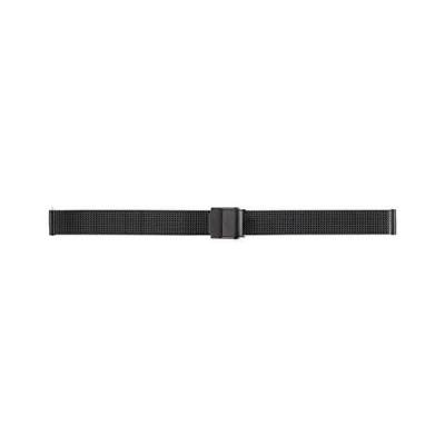 BAMBI バンビ 時計バンド メタルベルト ブラック 12mm カストル クイックレバー BSNL5252B