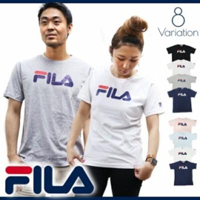 FILA フィラ Tシャツ メンズ レディース 半袖 ブランド 人気 ペアルック カップル おそろい 姉妹 親子 大きいサイズ キングサイズ 安い o