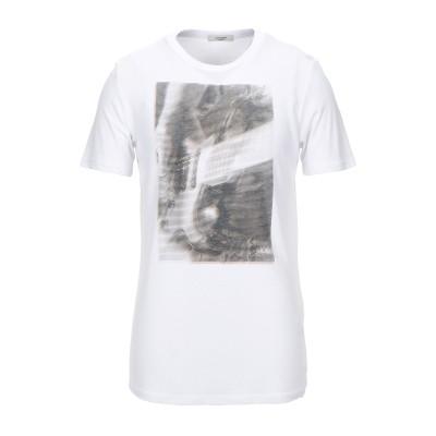 JACK & JONES PREMIUM T シャツ ホワイト S レーヨン 80% / ポリエステル 20% T シャツ
