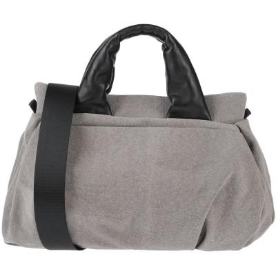 ROBERTA GANDOLFI ハンドバッグ カーキ 紡績繊維 / 革 ハンドバッグ