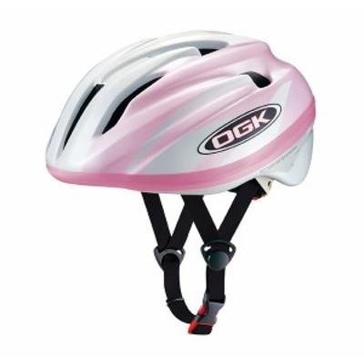 クーポン配布中 OGKKABUTO(オージーケーカブト)サイクルヘルメット  J-CULES・2 パールホワイトピンク 自転車 キッズ ヘルメット 幼児 児