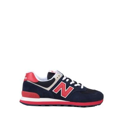 ニュー・バランス NEW BALANCE スニーカー&テニスシューズ(ローカット) ダークブルー 8 革 / 紡績繊維 スニーカー&テニスシューズ(