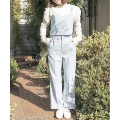 OLIVE des OLIVE / 【S/Mサイズ】【セットアップ対象】盛れかわスラックスパンツ WOMEN パンツ > スラックス