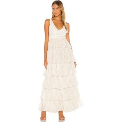 エヌビーディー NBD レディース ワンピース ワンピース・ドレス Tasha Dress White Stripe