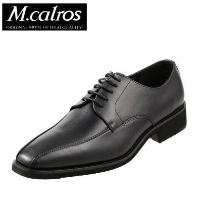 エムカルロス M.calros 3521 メンズ ブラック ビジネスシューズ