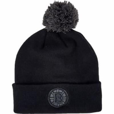47ブランド 47Brand メンズ ニット ビーニー 帽子 Bruins Beanie Black