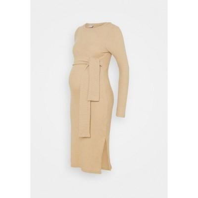 ママリシャス ワンピース レディース トップス MLELLY DRESS - Shift dress - nude