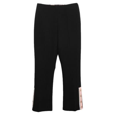 ELISABETTA FRANCHI パンツ ブラック 40 バージンウール 100% パンツ