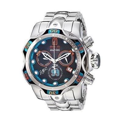 Invicta Men's JT Quartz Watch with Stainless-Steel Strap, Silver, 26 (