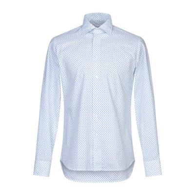 CALLISTO CAMPORA シャツ ホワイト 38 コットン 100% シャツ