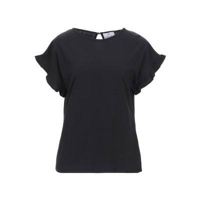 アリュード ALLUDE T シャツ ブラック S コットン 100% T シャツ