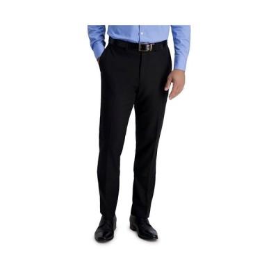 ルイス ラファエル カジュアルパンツ ボトムス メンズ Stretch Solid Skinny Fit Flat Front Suit Separate Pant Black